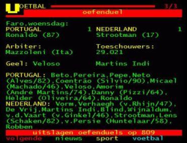 Teletekst-Portugal-Nederland